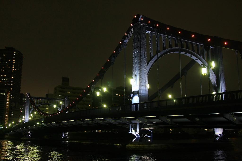 清洲橋の夜景②