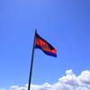 カンボジアの空