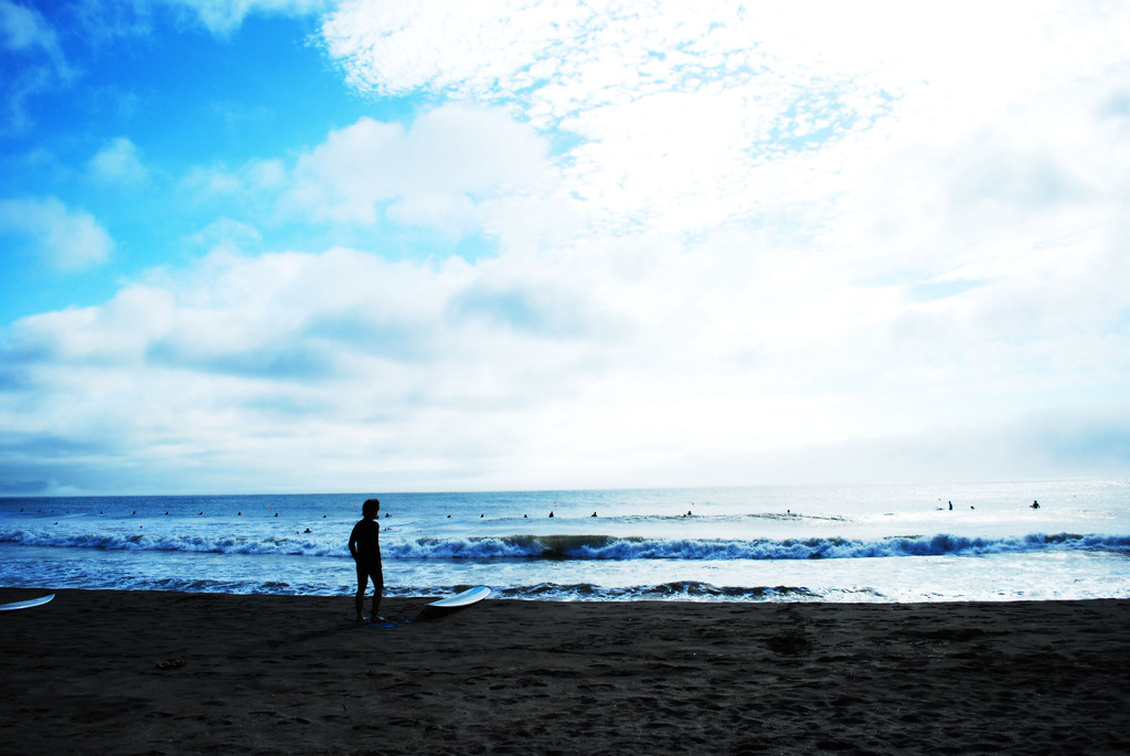いざ大海原へ
