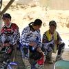 全日本・広島IA2表彰式前の3人