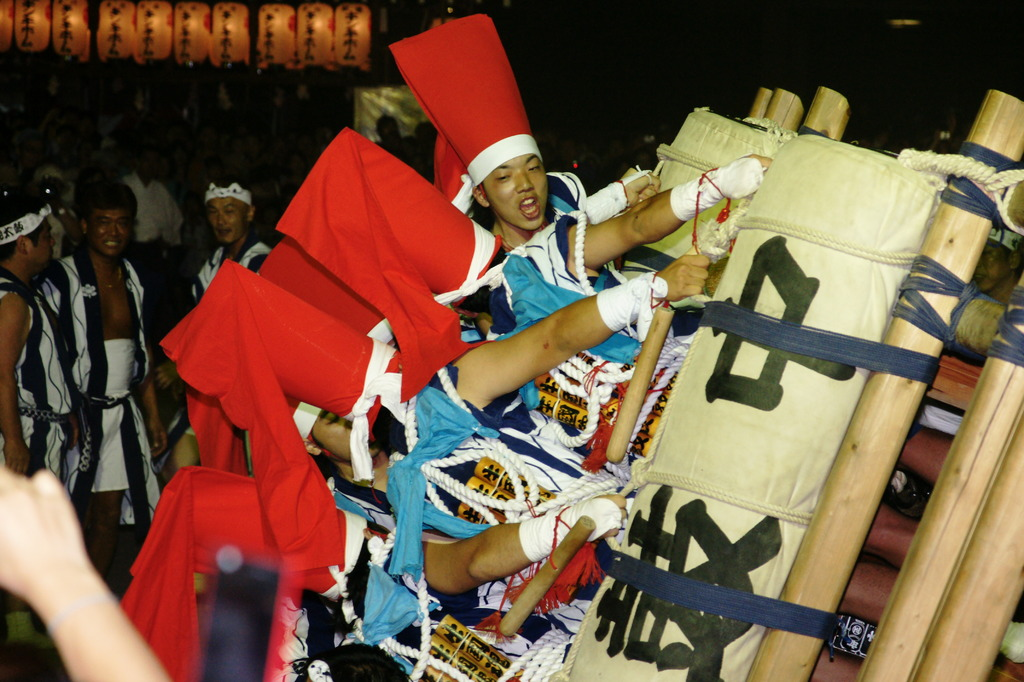 生玉神社・枕太鼓
