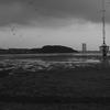 和白の干潟 曇り