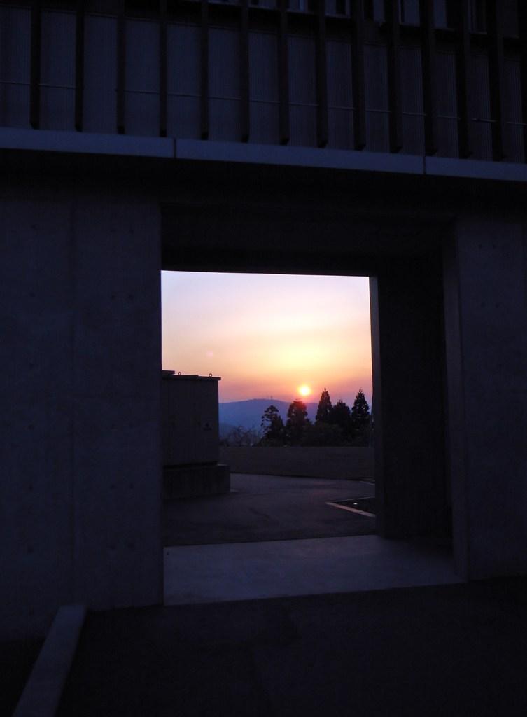 夕焼け 川口町