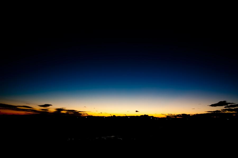 空の境界線