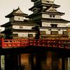 松本城夕景 II
