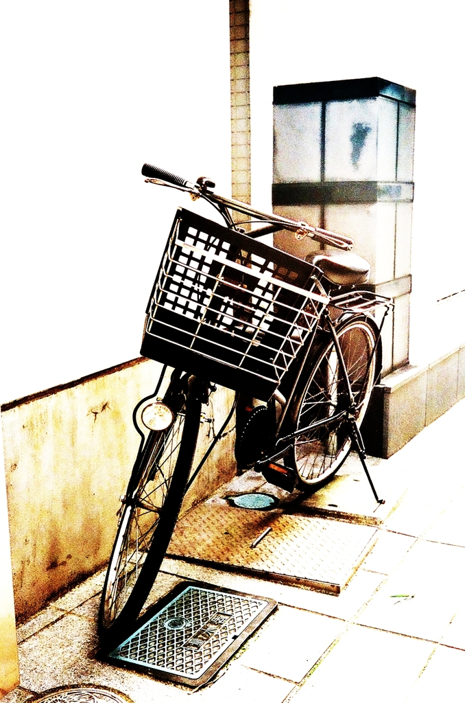 街角自転車