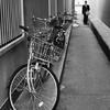 路地・自転車