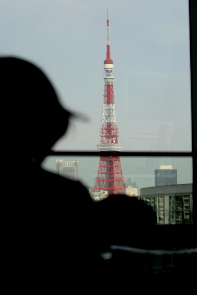 嫁と子と東京タワー