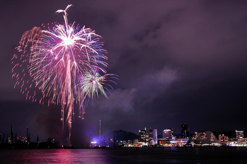 みなと神戸海上花火大会2