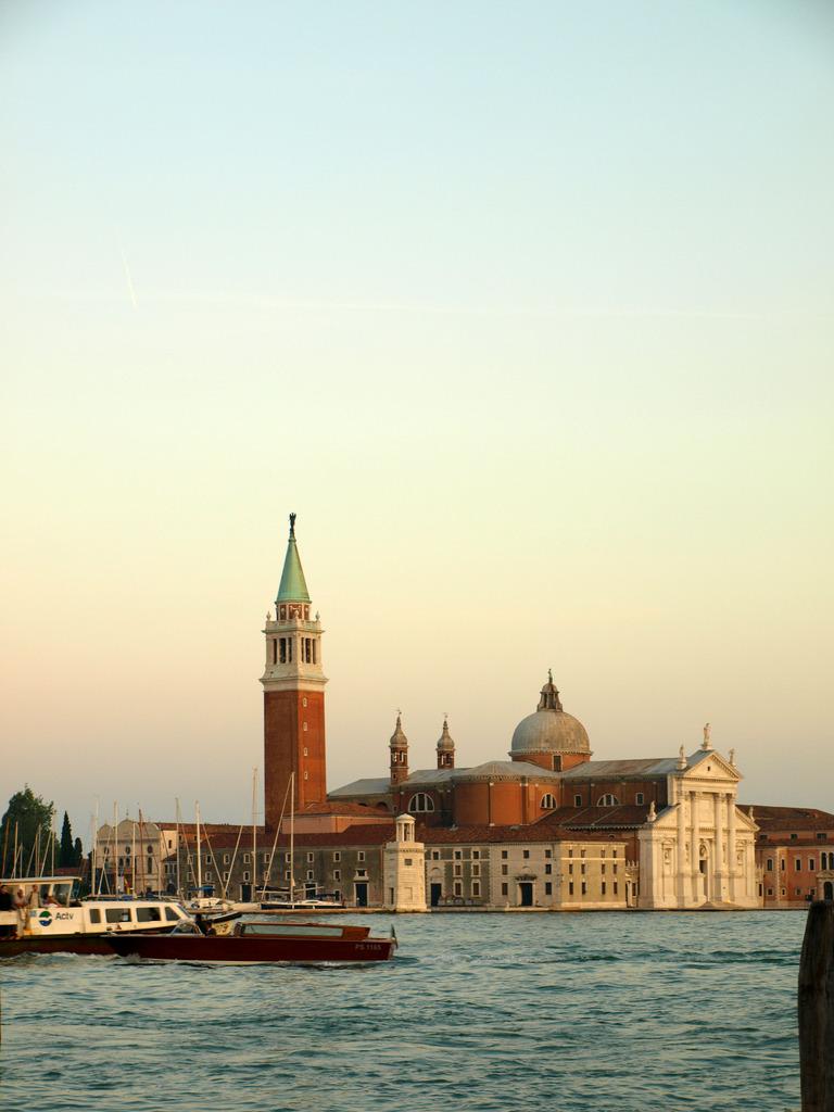 ヴェネチアの夕暮れ