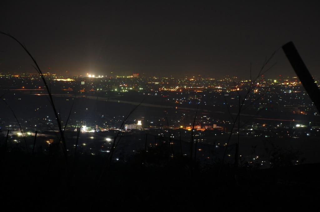 我が町の夜景(しょぼいデス。)