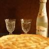 アップルパイで乾杯