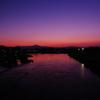 桂川夜明け前