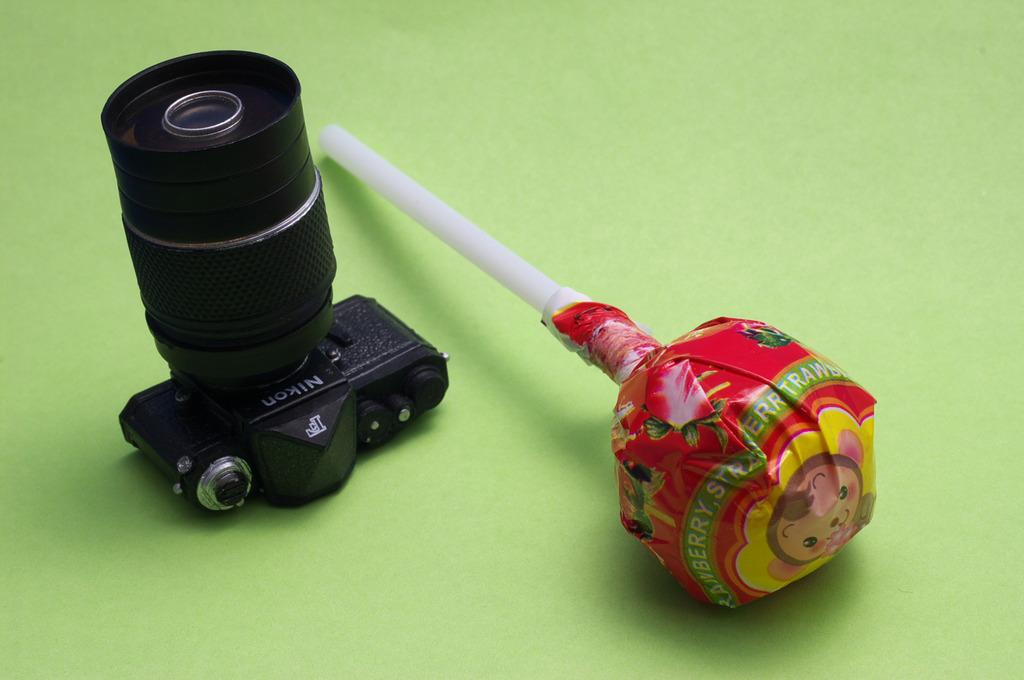 甜的照相機
