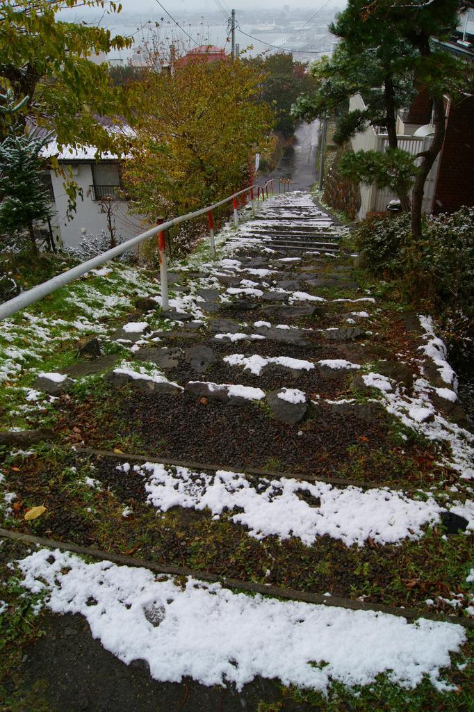 階段[雪]