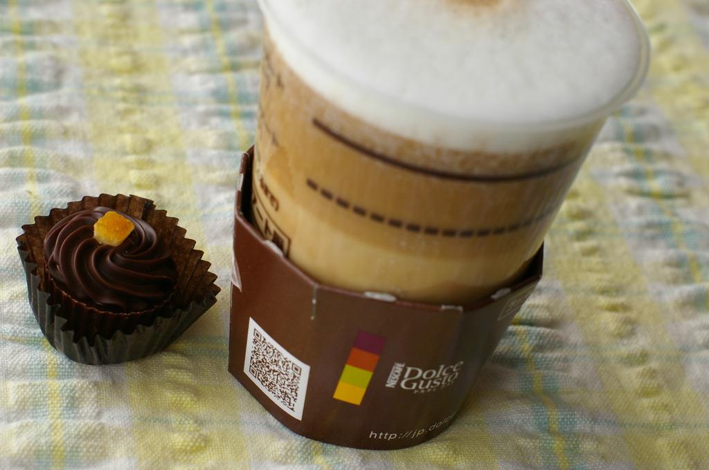 ラテとチョコレート