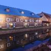小樽にて_小樽運河の夜