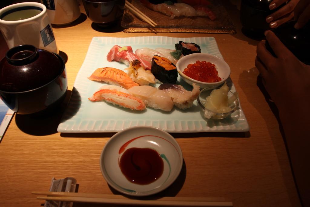 小樽にて_お寿司