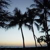 Sunset at Hotel Halekulani, Hawaii