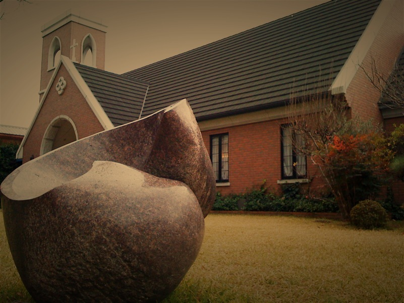 Stone of a church