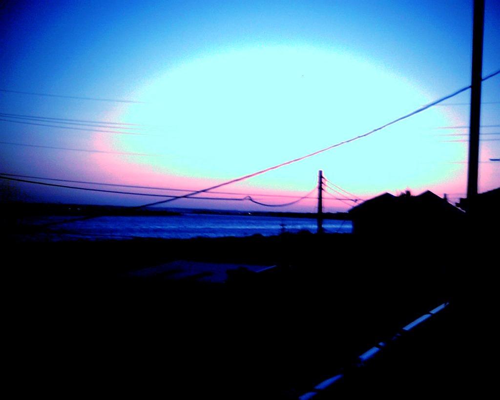 夕焼け(1)