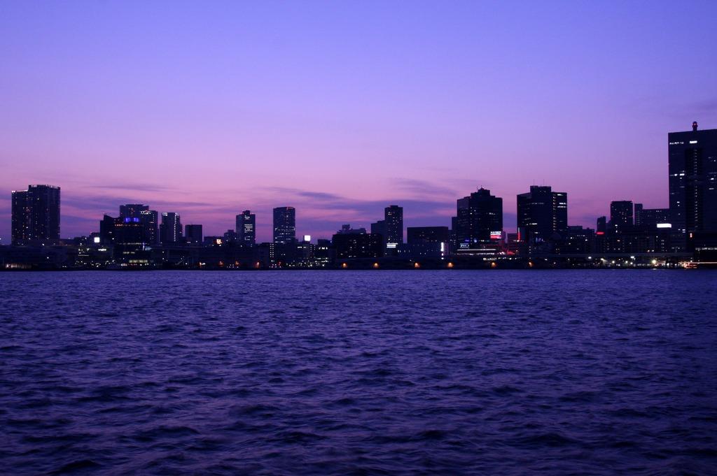 晴海からの夕暮れ