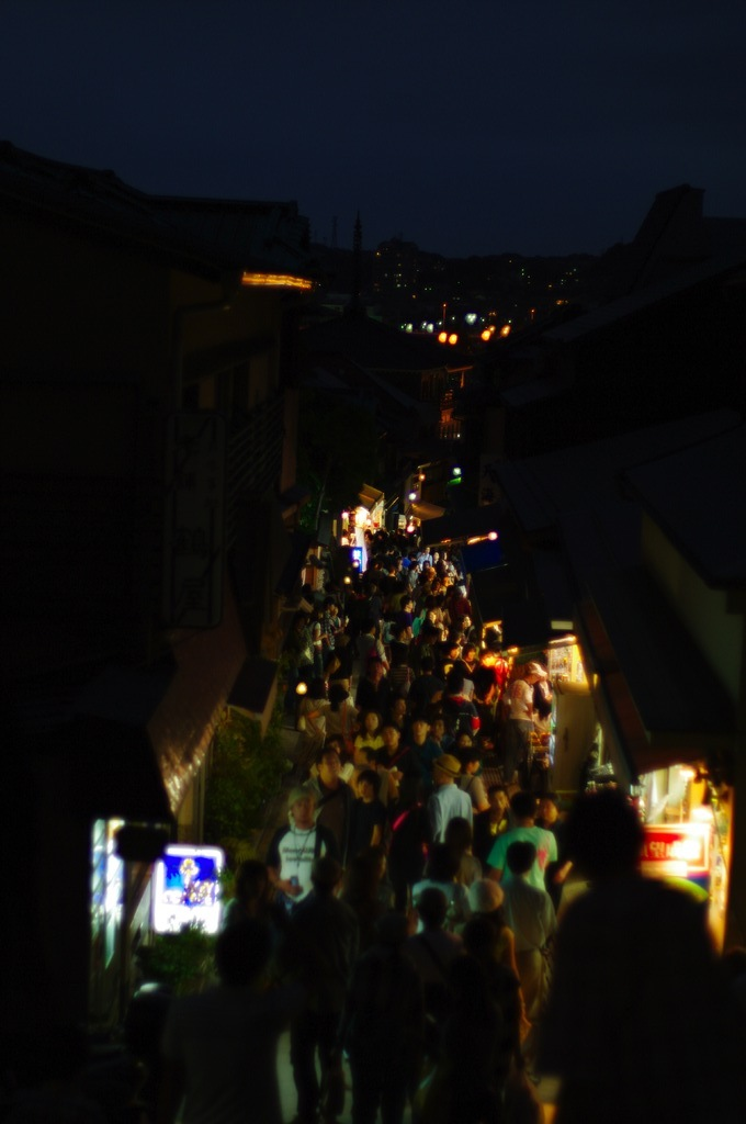 夜道 江ノ島