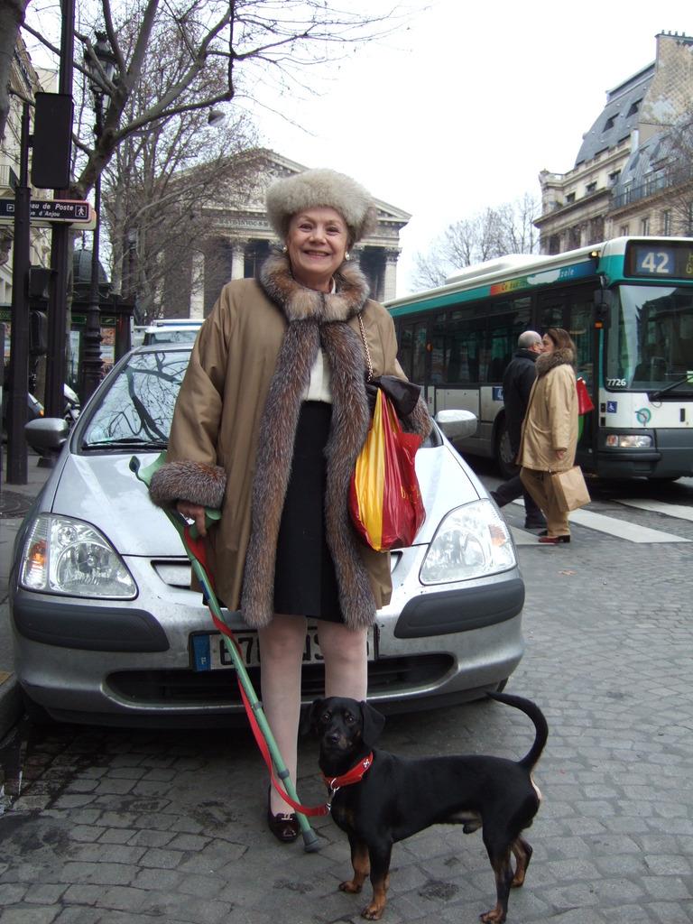 犬もパリジェンヌも
