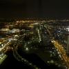 横浜ロイヤルパークホテル59階からみた夜景