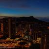 ハワイの夜明け