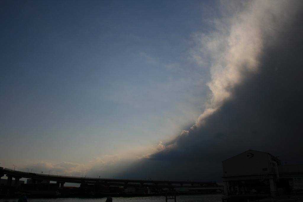 晴れと嵐の合間