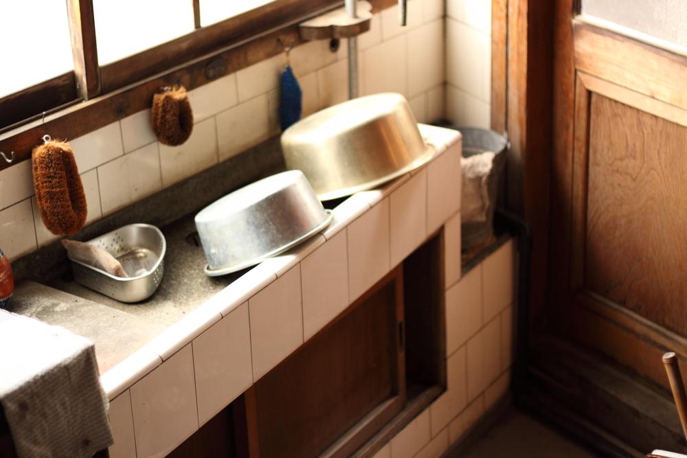 尾道ガウディハウスの台所