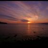 sunset。