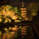 水面に映える東寺
