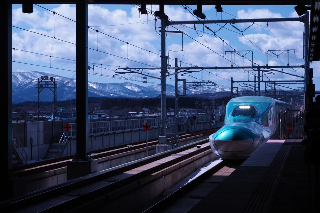 北海道一番乗り車両