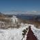 有珠山山頂からの景色