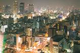 近未来都市(通天閣より)