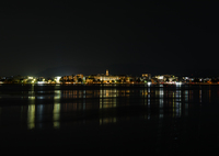 CANON Canon EOS 70Dで撮影した(対岸の夜景(7月の瀬田川風景))の写真(画像)
