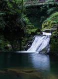 霊蛇滝(赤目四十八滝より)