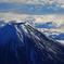 暖冬の富士