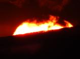 燃える稜線