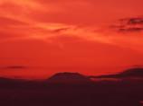 天空の夕焼け