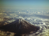 雲海と富士山