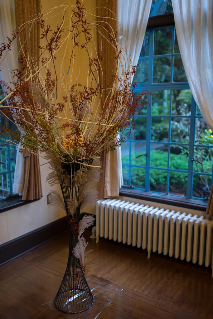 ベーリックホール 秋の寄せる三章~ 花・テーブル・灯り