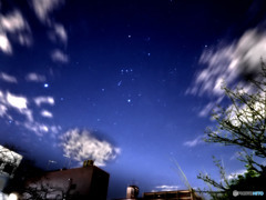 寒いからすぐそこで撮った星空