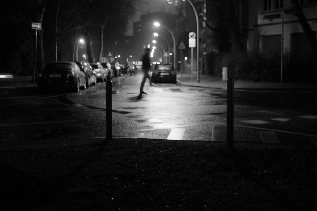 雨の帰り道