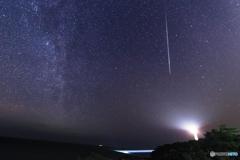しぶんぎ座流星群の夜