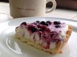 Berry Berry cheese  pie