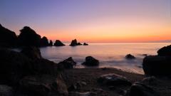 黎明の海辺 ~高知、五色の浜より~