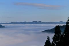 立雲峡から望む